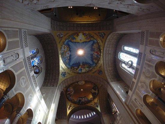 Basilica of the National Shrine of the Immaculate Conception: Mosaico no teto