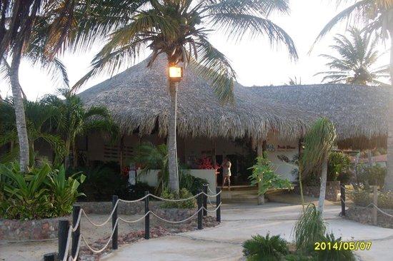 Punta Blanca Hotel : recepción