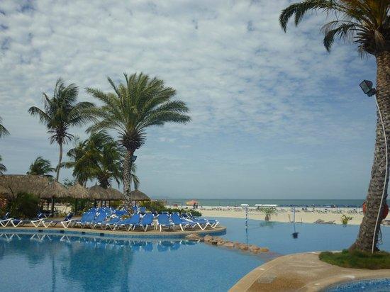 Punta Blanca Hotel : vista playa
