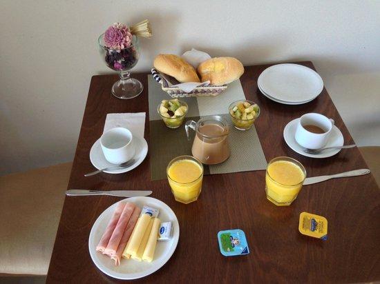 Zen Boutique Apart Hotel: Café da manhã