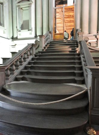 Laurentian Library: The Stairs Leading Up To The Library