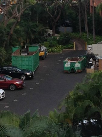 Marriott's Maui Ocean Club  - Lahaina & Napili Towers: More Trash (Room View)