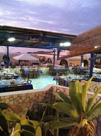 Hotel Ustica Punta Spalmatore: restaurant