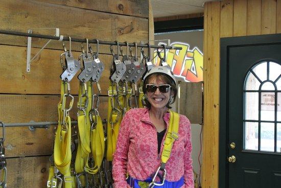 Alpine Adventures Outdoor Recreation : Ready to zip!