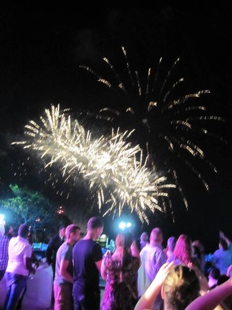The Tropical at Lifestyle Holidays Vacation Resort : Welcome Party Fireworks