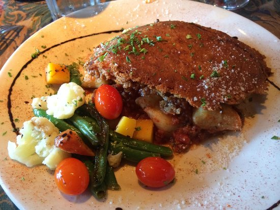 The Depot Restaurant: Chicken parmesan