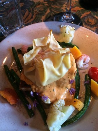 The Depot Restaurant : Halibut was delicious! :)
