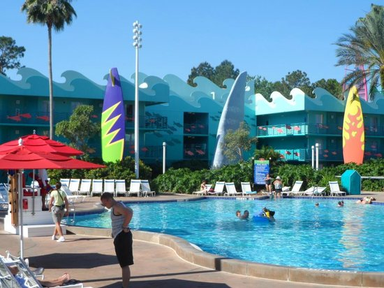Disney's All-Star Sports Resort: Piscina