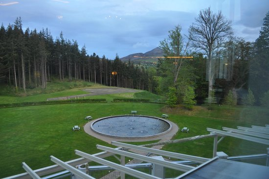 Powerscourt Hotel, Autograph Collection : View from one restaurant