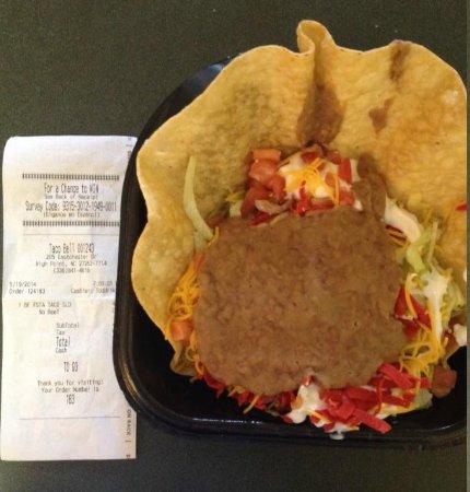 Taco Bell: Taco salad... interesting