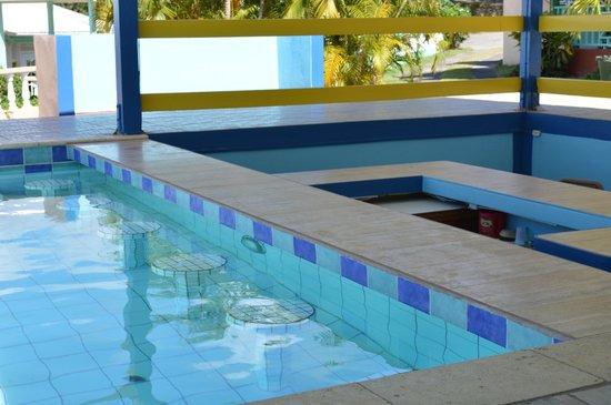 Bird Rock Beach Hotel: empty swim up bar