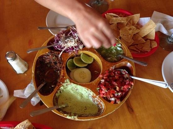 Cabo Cantina: our favorite starter with chips!