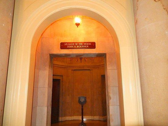 U.S. Capitol: Congressman John Boehner's area