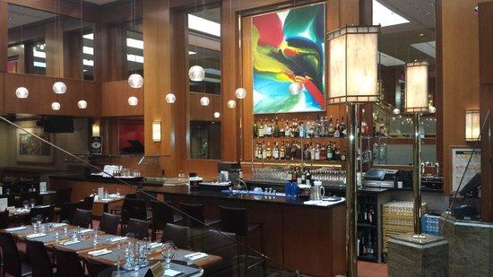Kitano New York: the hotel bar