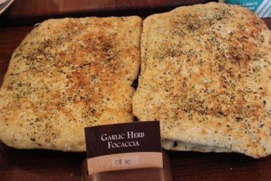 Pan De Vida: Garlic Focaccia