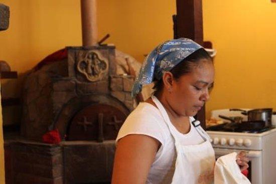 Pan De Vida: Wood fired oven