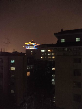 Citadines Central Xi'an: Night view from the window