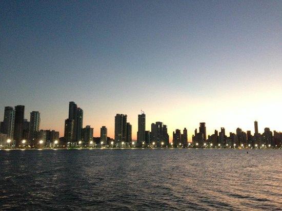 Molhe - Barra Sul: Vista de Balneário