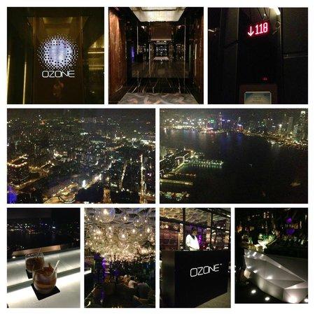 Ozone Bar at The Ritz-Carlton, Hong Kong: Overall
