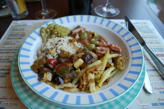 le Volet qui Penche : Plate of the day