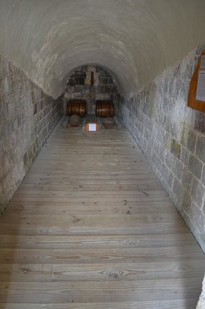 Brimstone Hill Fortress: gun powder storage
