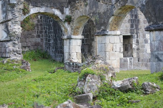 Brimstone Hill Fortress: Fort Brimstone ruin