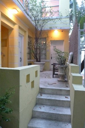Villa Paradiso: outside seating nook