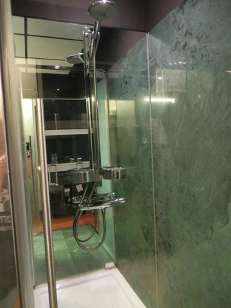 Hilton Madrid Airport : Stand-up shower