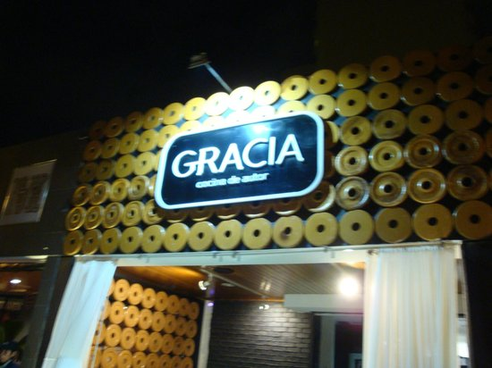 Front of restaurant picture of gracia cocina de autor for Cocina de autor