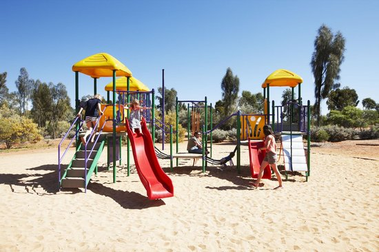 Shaded Outdoor Playground