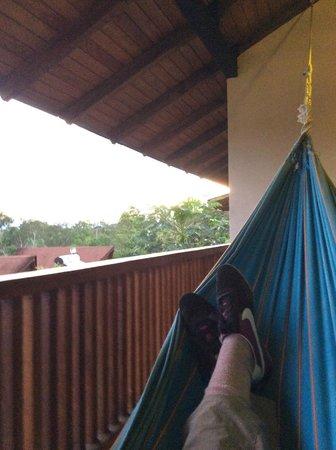 La Casa del Suizo: View from the hammock
