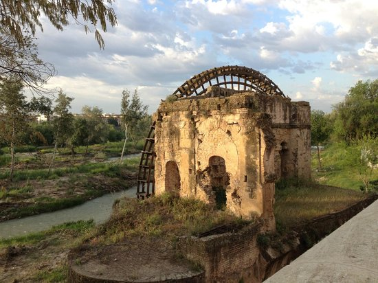 NH Cordoba : Old mill across the river