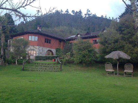 Hacienda Manteles: View of the hotel
