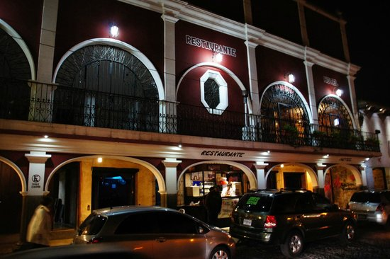 Hotel La Sin Ventura: Fachada do hotel