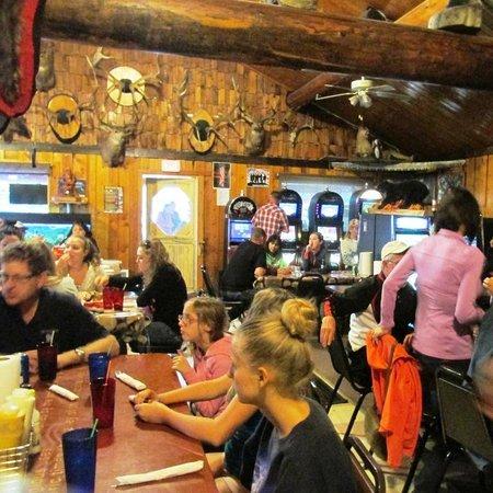 Rexford, MT: Frontier interior