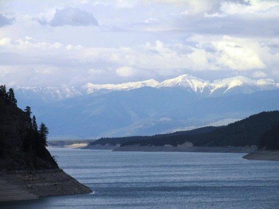Rexford, Монтана: Koocanusa Lake