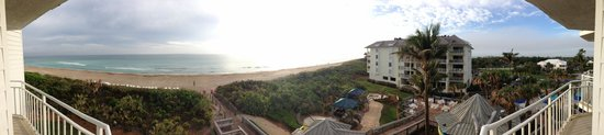 Hutchinson Island Marriott Beach Resort & Marina: View from room deck