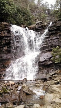 The Times House: Water Falls near Jim Thorpe