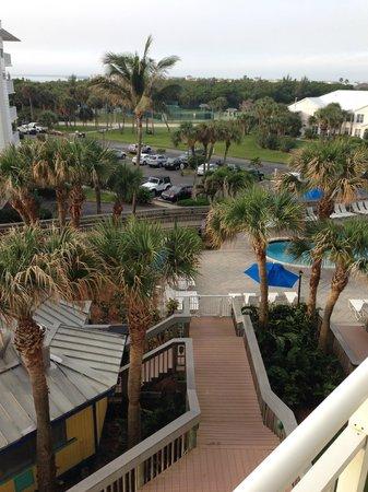 Hutchinson Island Marriott Beach Resort & Marina: View of pool area