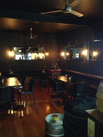 Bow St. Depot: inside dining