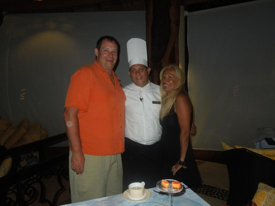 Secrets Maroma Beach Riviera Cancun: chef Jesus Rendon