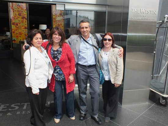 The Westin Lima Hotel & Convention Center: NUESTRA LLEGADA AL HOTEL