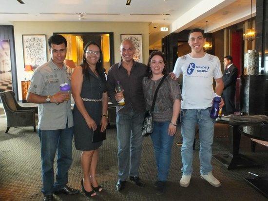 The Westin Lima Hotel & Convention Center: CON AMIGOS DE BRASIL