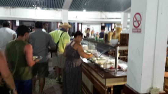 Hotel Venetur Morrocoy : Restaurant