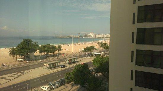 Arena Copacabana Hotel: 部分景觀房