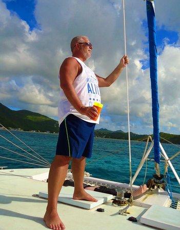 Celine Charters: Loving the sail