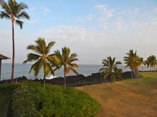 Kanaloa at Kona : View from the lanai looking towards ocean