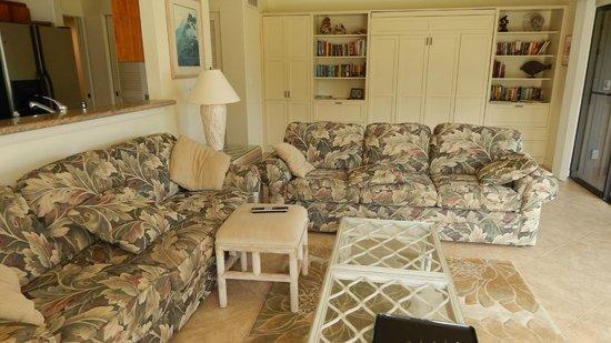 Kanaloa at Kona : Living room
