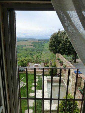 Casa Moricciani - view from our villa window