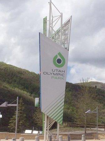 Utah Olympic Park : Olympic Park sign